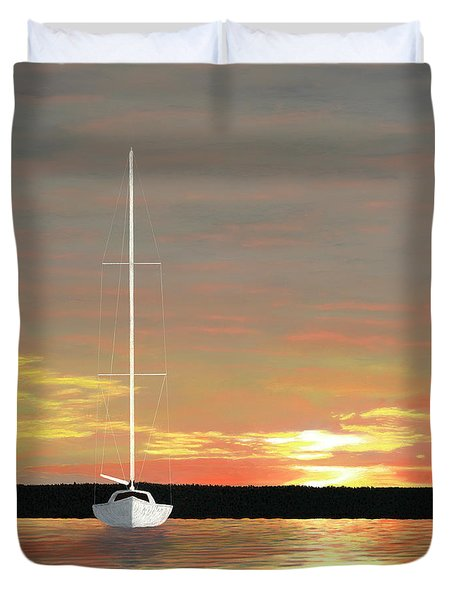 Sunrise Duvet Cover