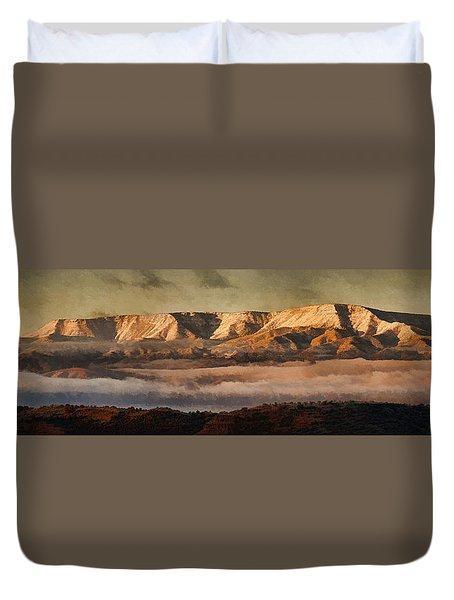 Sunrise Glow Pano Pnt Duvet Cover