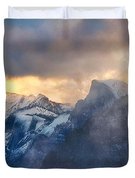 Sunrise Half Dome Duvet Cover