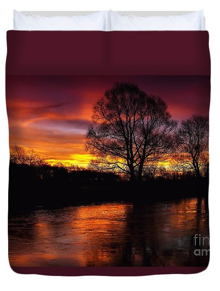 Sunrise II Duvet Cover