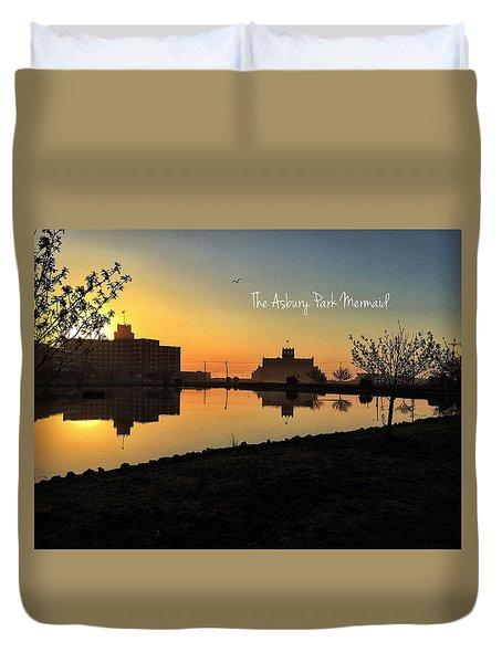 Sunrise In Asbury Park  Duvet Cover