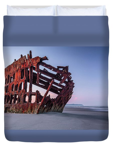 Sunrise In Astoria Duvet Cover