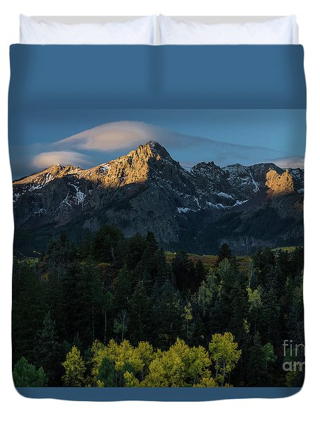Sunrise In Colorado - 8689 Duvet Cover