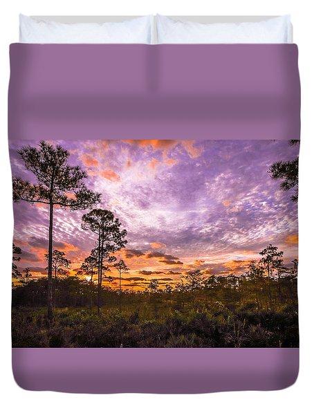 Sunrise In Jd Duvet Cover