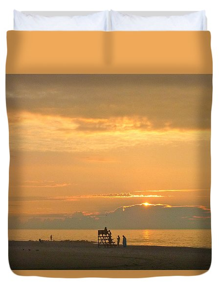 Sunrise In July Duvet Cover