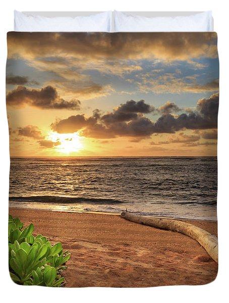 Sunrise In Kapaa Duvet Cover