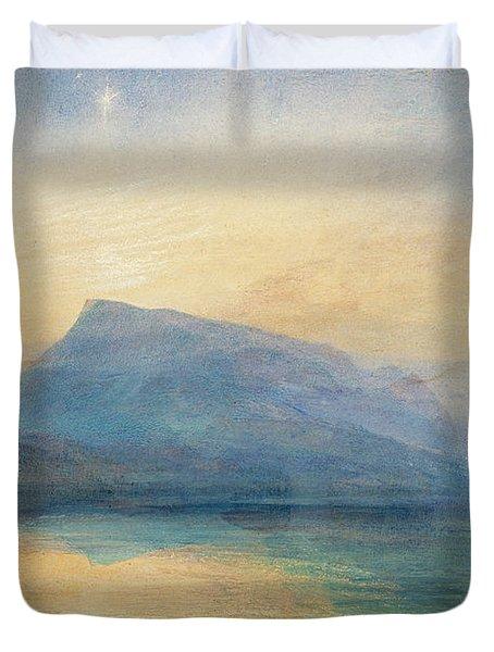 Sunrise Duvet Cover by Joseph Mallord William Turner