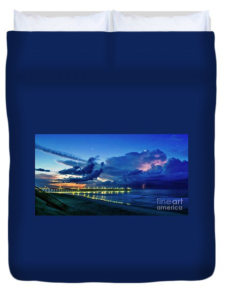 Sunrise Lightning Duvet Cover