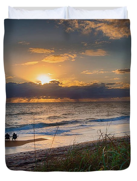 Sunrise Love Duvet Cover