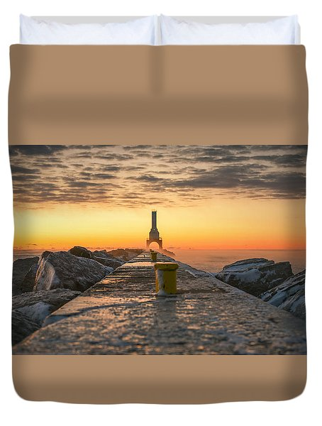 Sunrise Magic Duvet Cover