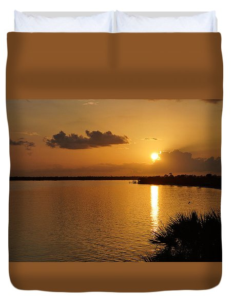 Sunrise Mobile Bay Duvet Cover