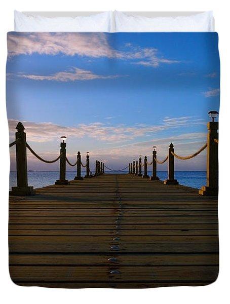 Sunrise Morning Bliss Pier 140a Duvet Cover