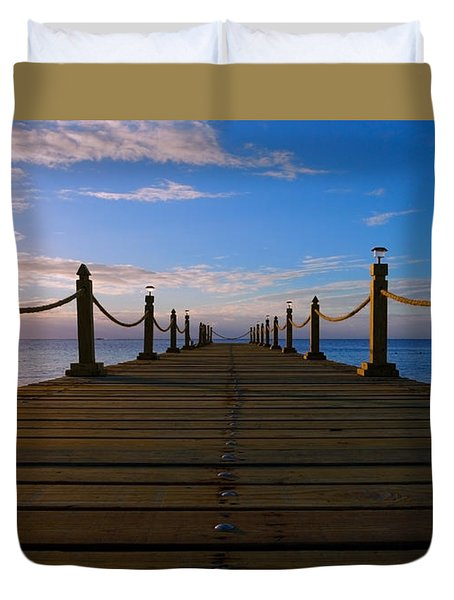 Sunrise Morning Bliss Pier 140a Duvet Cover