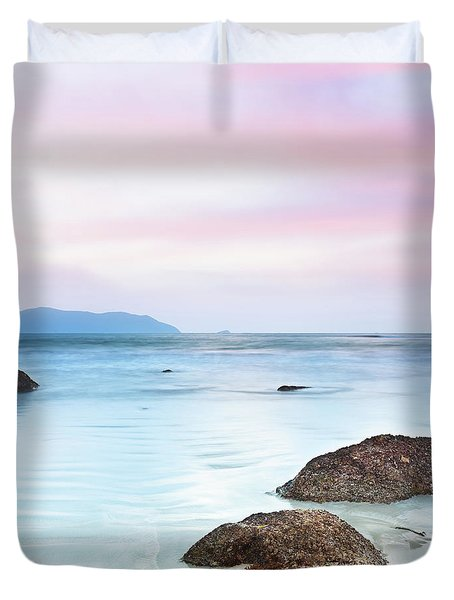 Sunrise Duvet Cover by MotHaiBaPhoto Prints