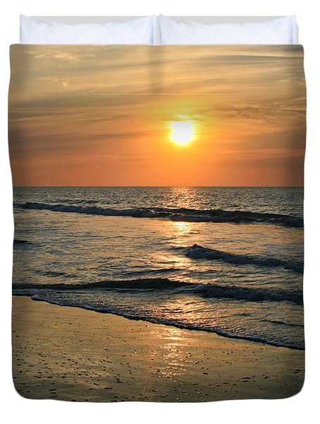 Sunrise Myrtle Beach Duvet Cover
