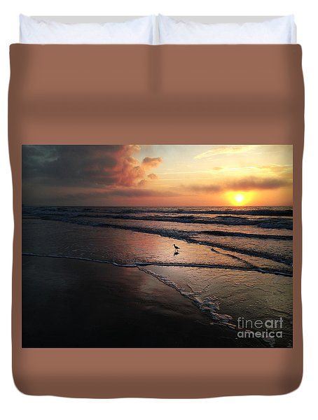 Sunrise Myrtle Beach South Carolina Usa Duvet Cover