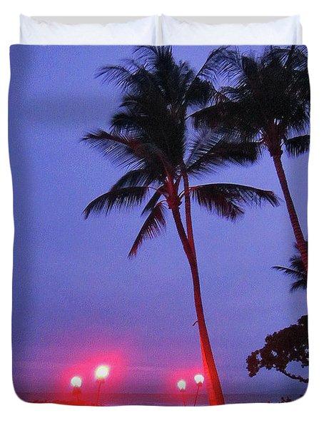 Sunrise Ocean Pathway Duvet Cover