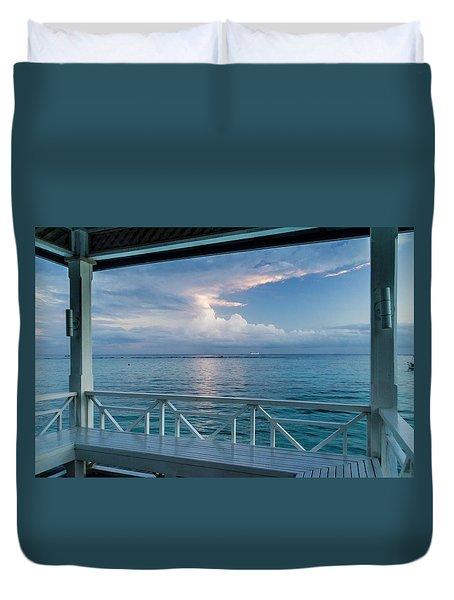 Sunrise, Ocho Rios, Jamaica Duvet Cover