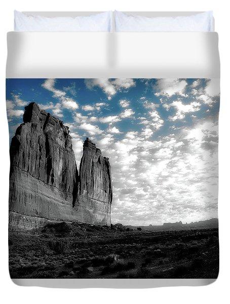 Sunrise On Arches National Park Utah 17 Sc 01 Duvet Cover