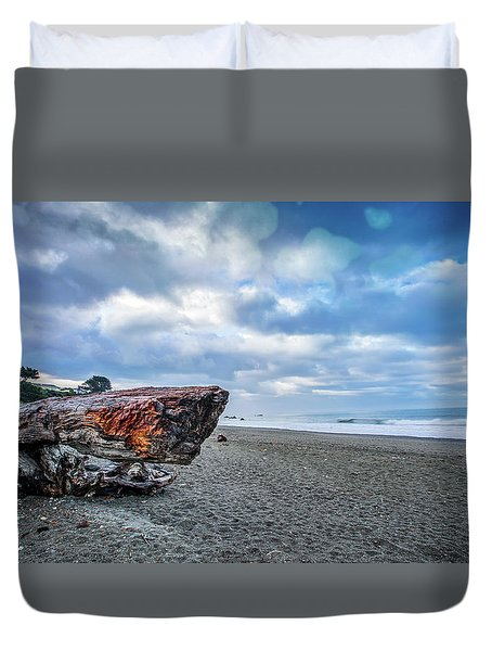 Sunrise On Brookings Duvet Cover