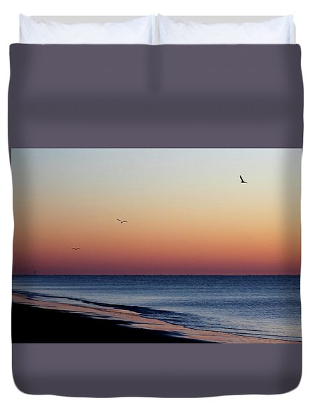 Duvet Cover featuring the photograph Sunrise On Hilton Head by Bruce Patrick Smith