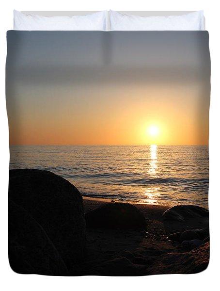 Sunrise On Langeland Duvet Cover