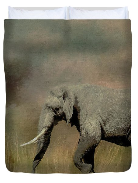 Sunrise On The Savannah Duvet Cover