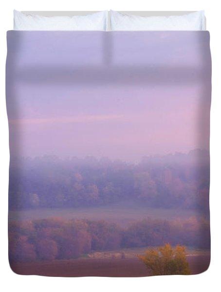 Sunrise Over Mid Valley 2 Duvet Cover