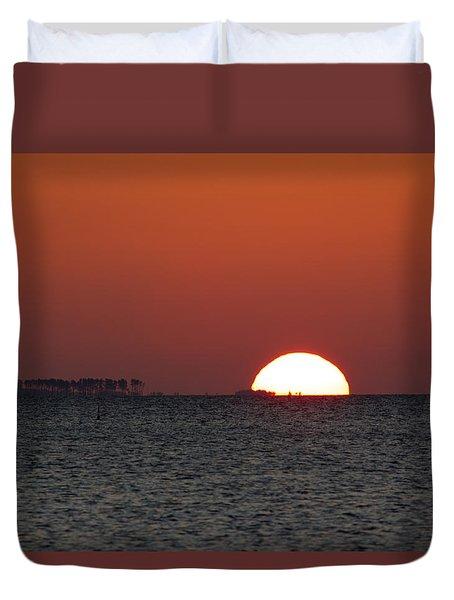 Sunrise Over The Bay 5x7 Duvet Cover