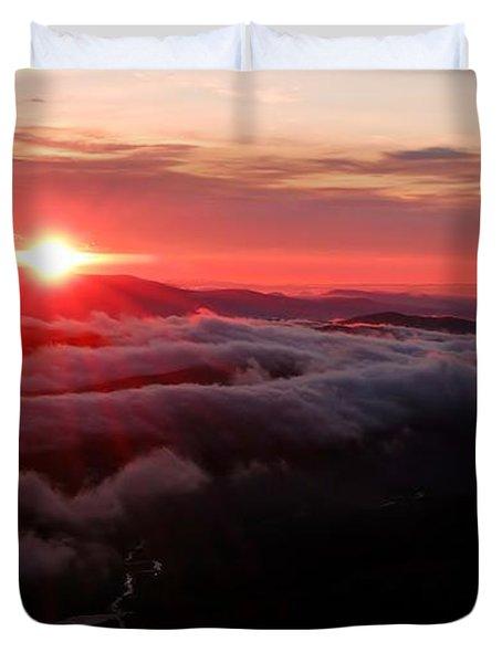 Sunrise Over Wyvis Duvet Cover