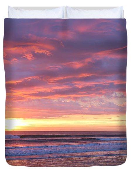 Sunrise Pinks Duvet Cover
