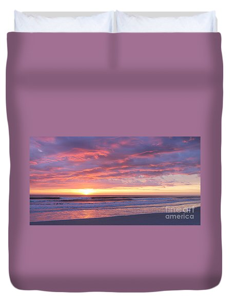 Sunrise Pinks Duvet Cover