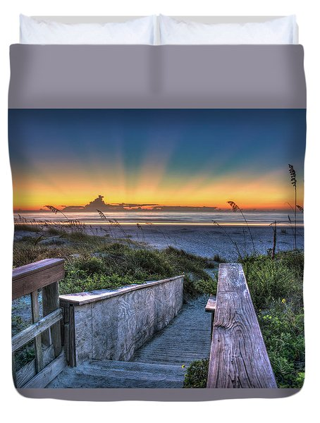 Sunrise Radiance Duvet Cover