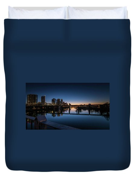 Sunrise Reflections Duvet Cover