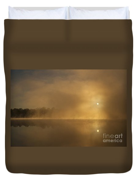 Sunrise Relections Duvet Cover