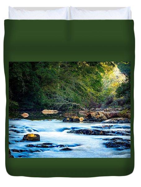 Sunrise River Duvet Cover