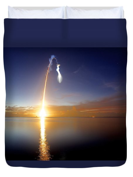 Sunrise Rocket Duvet Cover