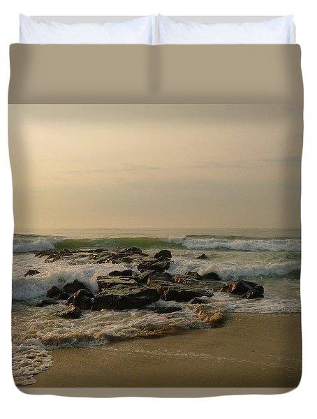 Sunrise Rocks Duvet Cover