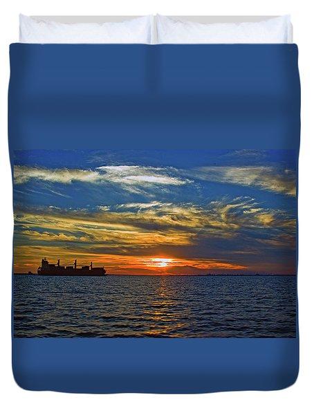 Sunrise Sail Duvet Cover