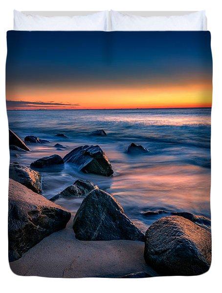 Sunrise, Sandy Hook Duvet Cover