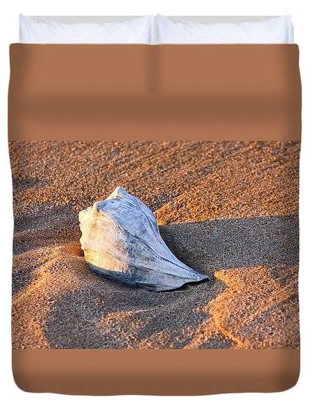 Sunrise Seashell Duvet Cover