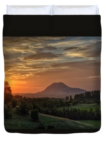 Sunrise Serenity  Duvet Cover