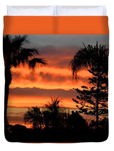Sunrise Sherbert Duvet Cover