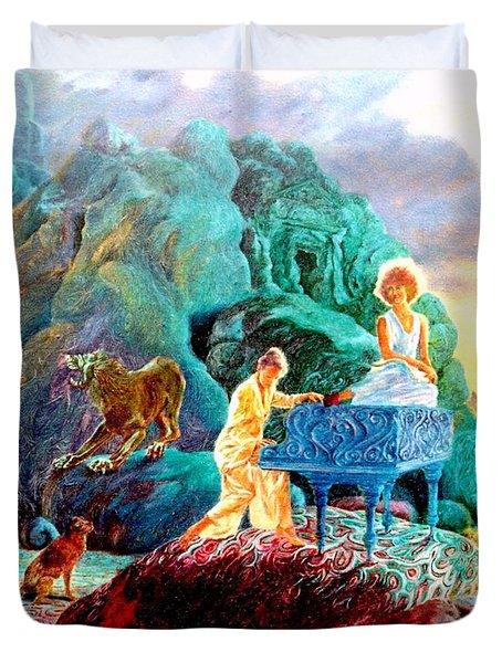Sunrise Sonata Duvet Cover