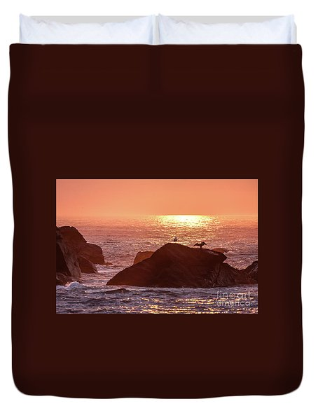 Sunrise, South Shore Duvet Cover