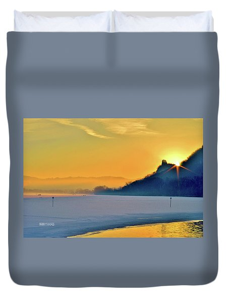 Sunrise Sparkle Duvet Cover