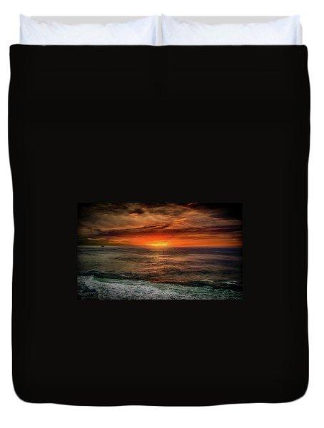 Sunrise Special Duvet Cover by Joseph Hollingsworth