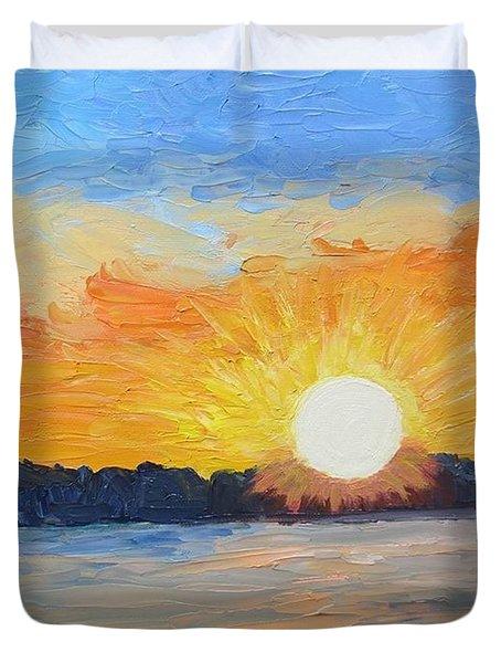 Sunrise Sensation Duvet Cover