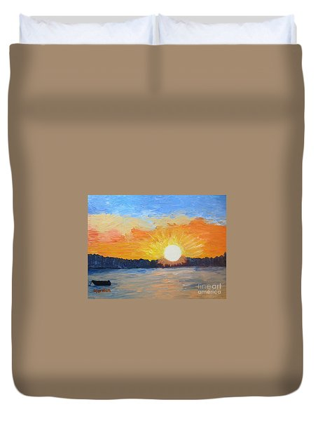 Sunrise Sensation Duvet Cover