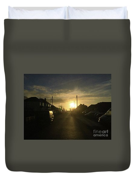 Sunrise Street Duvet Cover